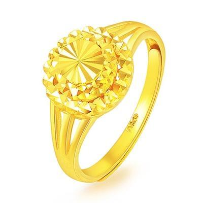 China Gold 中国黄金 GA0R016 圆形足金戒指 4.89g 1586.17元包邮