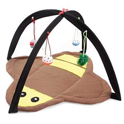 卡沐森 宠物玩具 猫咪嬉戏床 蜜蜂款 44 * 44 * 34cm 49元包邮
