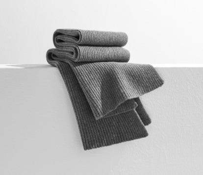¥189 网易严选 极简纯色羊毛针织围巾