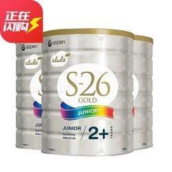 Wyeth 惠氏 S-26 4段奶粉 900g 3罐 295元包邮(合98.33元/罐)