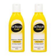 Selsun Gold 强效去屑洗发水 200ml*2瓶 115元包邮