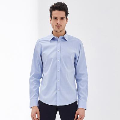 ¥169 男式长绒棉免烫衬衫