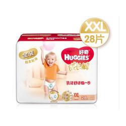 京东商城 Plus会员:HUGGIES 好奇 金装成长裤 XXL28片 *6件 294.6元包邮(合49.1元/