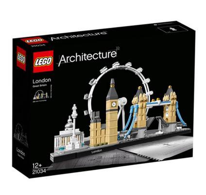 乐高 建筑街景系列 伦敦 21034 319元包邮