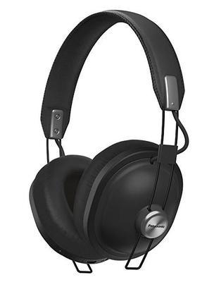 Panasonic Retro Over-The-Ear 耳机带蓝牙 24 小时播放颜色 黑色 315.14元