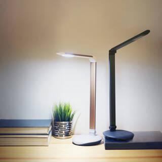 飞利浦(PHILIPS) LED台灯 工作学习卧室床头灯 晶黑色 酷永U电版 *12件 818元