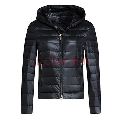 ¥419 ARMANI EXCHANGE阿玛尼奢侈品女士羽绒夹克6YYB24-YN67Z BLACK-1200 S