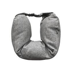 苏宁易购 移动端: 苏宁极物 多功能U型颈枕 针织款 29.9元包邮(2人成团)