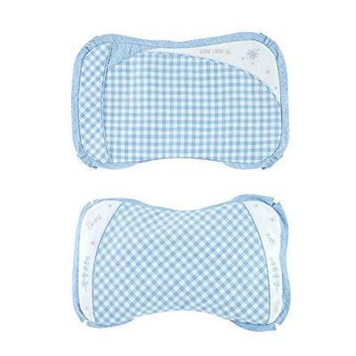 良良 6-18个月婴儿枕头新生儿可调护型保健枕宝宝婴幼儿定型枕 粉色 117.3元