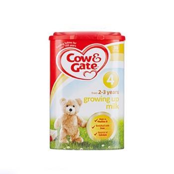 苏宁易购 Cow&Gate 牛栏 婴幼儿奶粉 4段 800g到手98.97元