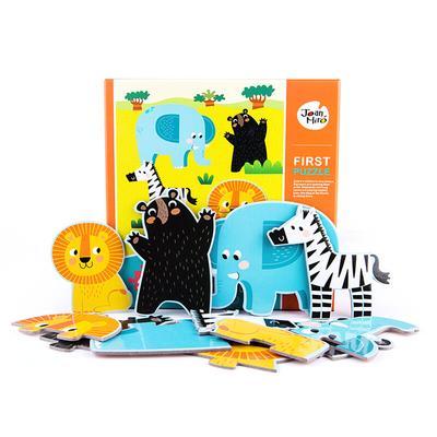 JoanMiro 美乐 儿童益智大块拼图 野生动物 29.9元包邮
