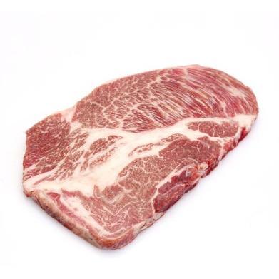 中粮 安至选 M9级 澳洲和牛上脑原切牛排 300g +凑单品 实付150元包邮