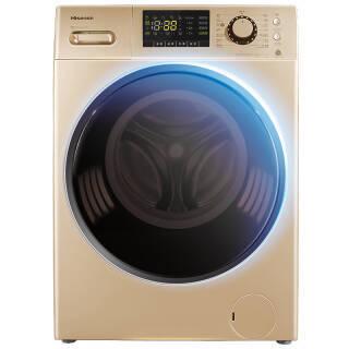 海信(Hisense) XQG90-S1226FIYG 9公斤 全自动变频滚筒洗衣机 1999元