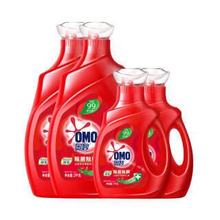 奥妙 洗衣液 16斤超值除菌除螨套装(3kg×2+1kg×2) 源自天然酵素(新老包装随机