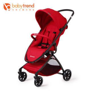 Babytrend 美国babytrend婴儿推车 可坐可躺轻便折叠推车上飞机 F6 速度红 594元