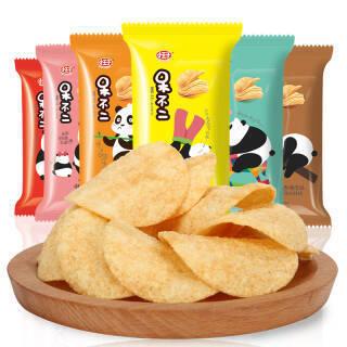小王子 呆不二薯片多口味组合10包230g *11件 107.9元(合9.81元/件)