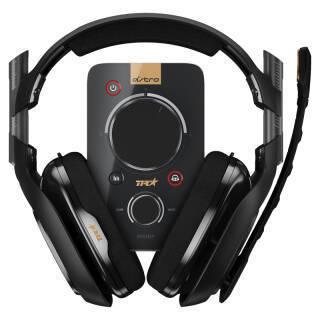 罗技(Logitech) Astro A40 7.1环绕声 电竞耳机麦克风+Mixamp音频控制器 1999元