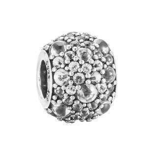 PANDORA 潘多拉 梦幻闪烁银色水滴串珠 791755CZ 284元