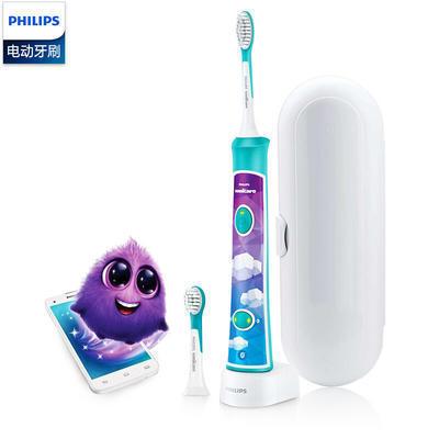 Philips 飞利浦 HX6322/04 儿童声波震动牙刷 蓝牙版 286元包邮