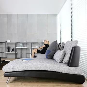 A家家具 ADC-026-2 布艺沙发组合 单人+双人+贵妃 2909元包邮