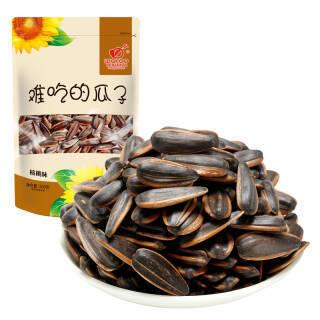 旺瓜 坚果炒货 大颗粒葵花籽 休闲零食 核桃味瓜子 难吃的瓜子500g/袋 *10件 9