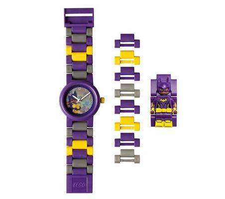 ¥88.56 LEGO BATMAN 电影蝙蝠儿童迷你人偶表链buildable手表