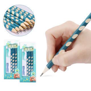猫太子(MAOTAIZI)洞洞笔儿童矫正握姿小学生写字HB铅笔学生学习用品矫正器