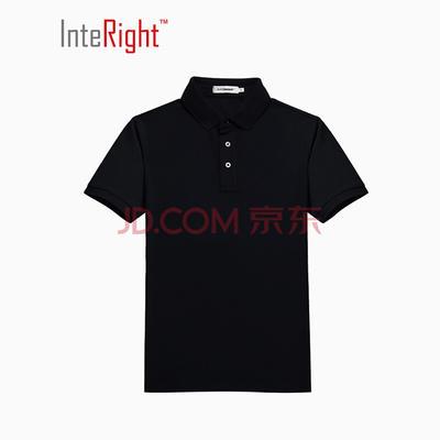 InteRight 50S棉质双珠地 男士免烫POLO衫 76.9元