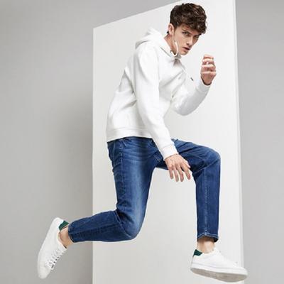 网易严选 男式休闲宽松牛仔裤 活动价178.2