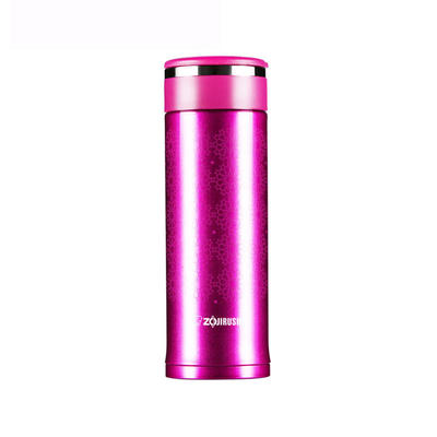 ¥99 象印(ZOJIRUSHI)保温保冷杯SM-EC30 300ml(紫红)