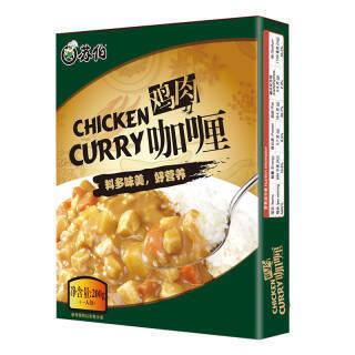 苏伯 鸡肉咖喱 200g *15件 102.5元(合6.83元/件)
