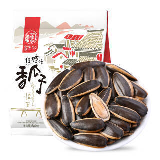 华味亨 焦糖味香瓜子 500g 6.95元