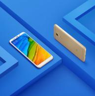 双卡双待 小米 红米5 Plus 金色 4G+64G 全网通智能手机  1099元(持平上次推荐