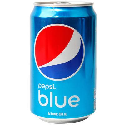 ¥5.9 【国美自营】巴厘岛进口百事易拉罐蓝色可乐330ml可乐
