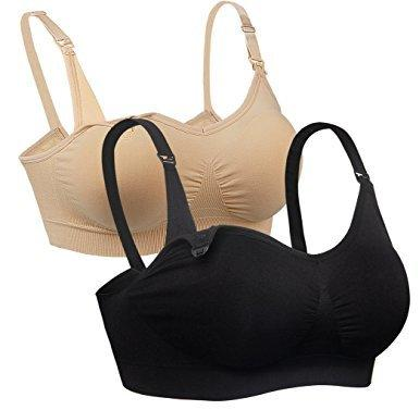 中亚Prime会员 : iLoveSIA 无缝舒适哺乳文胸 2件装 116.28元