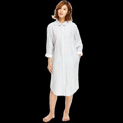 ¥104 muji制造商~日式双层纱长裙-网易严选