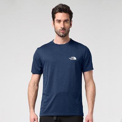 吸汗透气!北面运动户外男短袖T恤2SM4 限时好价159元包邮含税