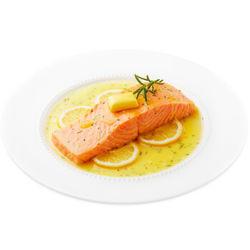 限地区!美威 冷冻智利纯中段三文鱼排(大西洋鲑)250g(含奶油柠檬酱料