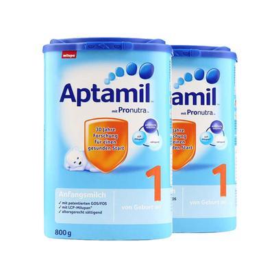 Aptamil 爱他美 Pronutra 婴儿配方奶粉 1段 800g *2件 限时购 189元包税包邮 合94.5