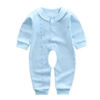 国美 童港湾 婴儿翻领连体衣长袖爬服18.9元包邮(已降14元)