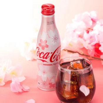 日本进口 樱花可口可乐纪念版铝瓶250ml*8瓶装 现售价99元包邮,尝鲜入手啦