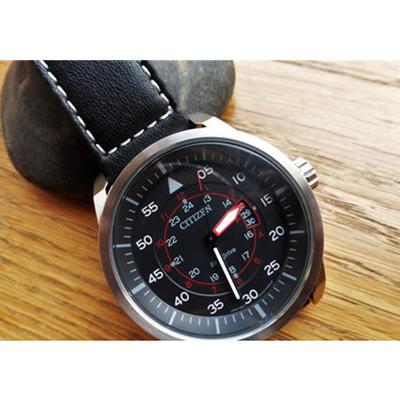 新低!西铁城 AW1360-04E 光动能男士腕表 780元包邮(需用码)