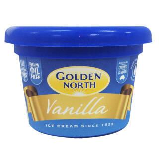 金诺斯(Golden North)澳大利亚进口 冰淇淋 125ml 香草口味 *10件 109元(合10.9