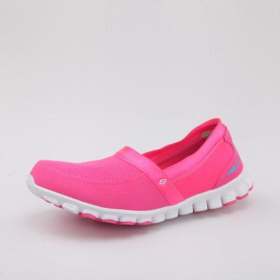 限尺码: Skechers 斯凯奇 22258C 女士透气一脚蹬休闲鞋 82元,可299-50