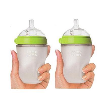 Comotomo 可么多么 婴儿硅胶奶瓶 250ml 2只装 141.75元,不包税包邮