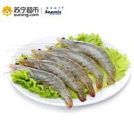 禧美 厄瓜多尔白虾 1.8kg *2件 158元包邮