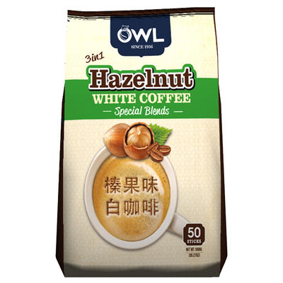 ¥39.9 【国美自营】越南进口猫头鹰牌咖啡拉白榛果味量贩装1kg(韩国版)