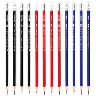 得力(deli)高级书写HB铅笔学生铅笔 12支/盒58108 6.5元