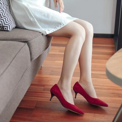 ¥179 网易严选 金属跟女士高跟鞋 3色