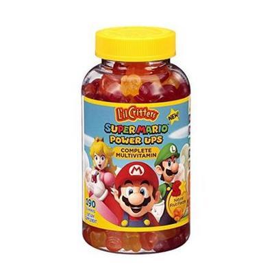 L'il Critters 儿童多种维生素软糖 190粒 超级马里奥版 ¥93